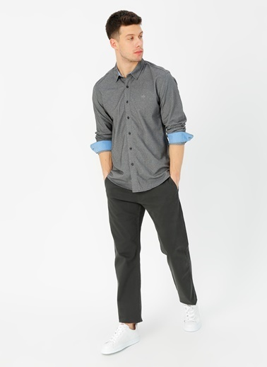 Dockers Dockers 360 Ultimate Button Up Gömlek Siyah